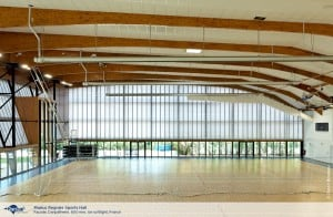 Marius Regnier Sports Hall 01