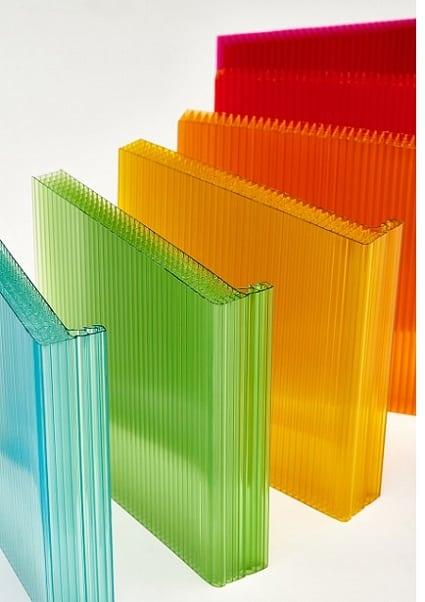 Polycarbonate standing seam panels