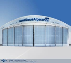 Hangar 5 Aerolineas Argentinas