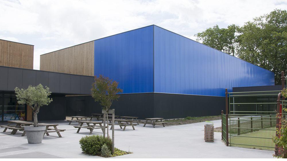 Un sistema de fachadas ideal para grandes superficies