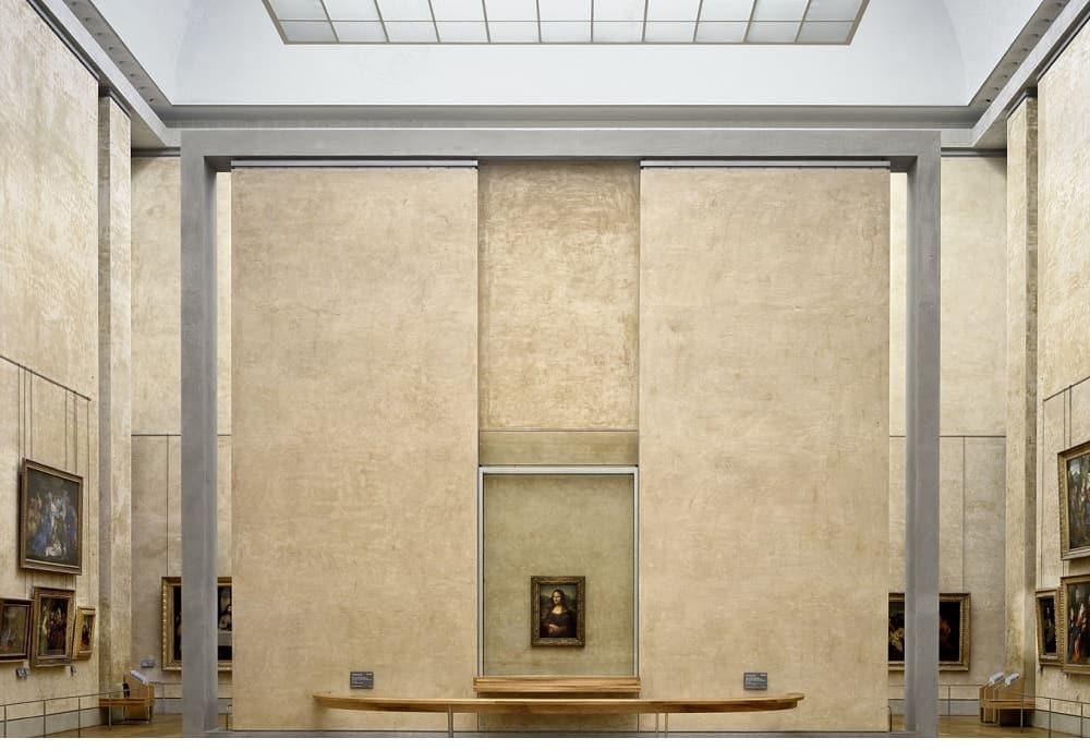 En el Museo del Louvre, La Mona Lisa está protegida por la lámina de policarbonato Danpalon