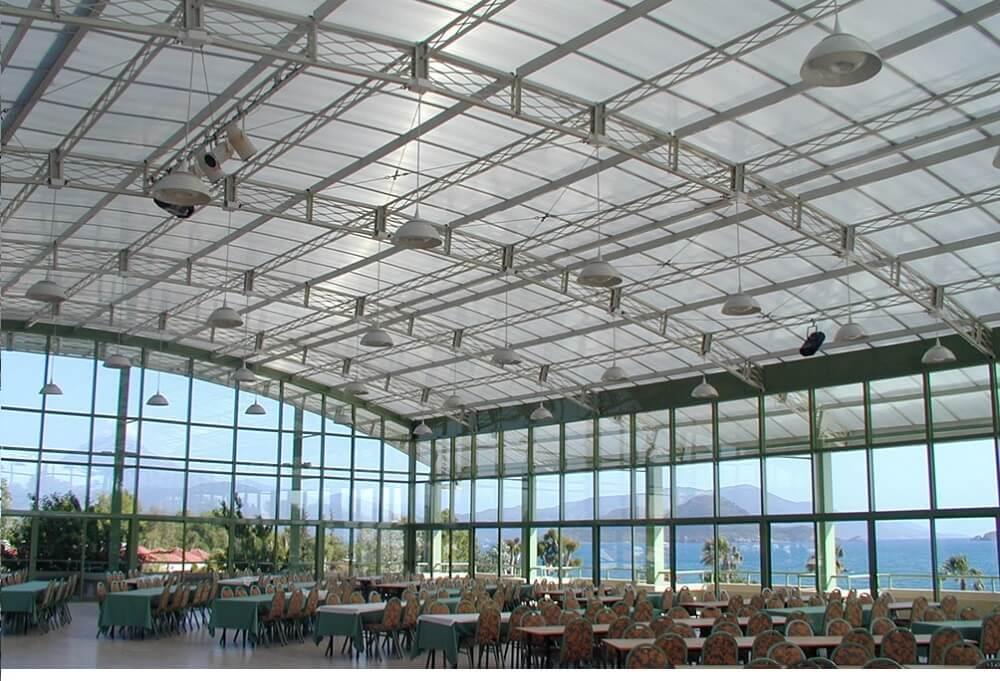 Las cubiertas de Danpal resguardan la salud de los usuarios de los edificios